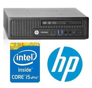 NEW* HP ELITEDESK 800 DESKTOP PC COMPUTER SFF - SEE COMMENTS 101025169