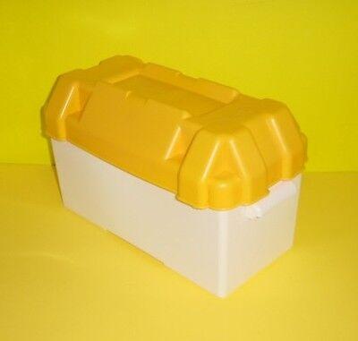 Scatola portabatteria cassetta contenitore batteria maxi barca nautica