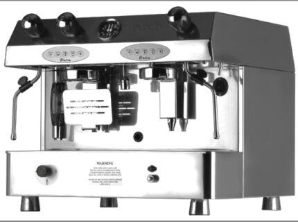Fracino Contempo 2 Group Electronic LPG Dual Fuel Coffee Machine