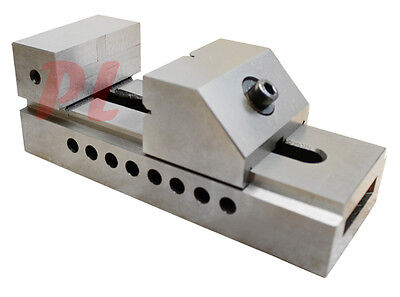 3 Screwless Toolmaker Grinding Ground Vise .0002 Steel Tool Making Vise