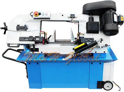 9 X 12 Horizontal Metal Cutting Band Saw Hydraulic Down Feed 3 Phase 220v 1.5hp