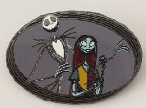 Disney Nightmare Before Christmas Jack and Sally Skellington Portrait pin
