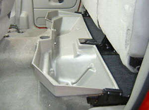 DU-HA under seat storage for Dodge Ram quad cabs