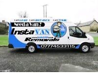 -INSTAVAN - REMOVALS / COLLECTION / DELIVERY / MAN WITH A VAN SERVICE! LONG DISTANCE ALSO!