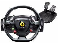 Racing wheel for Xbox 360 Ferrari 458 Italia