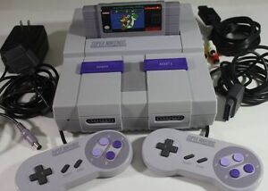 Looking for a Super Nintendo SNES or NES with Games - pickup