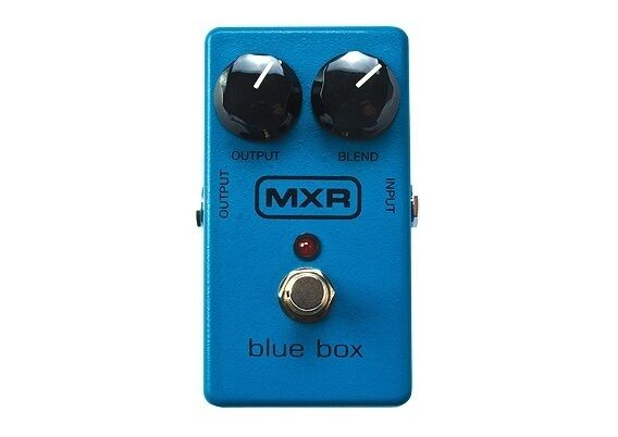 Used MXR M103 Blue Box Fuzz Octave Guitar Effects Pedal