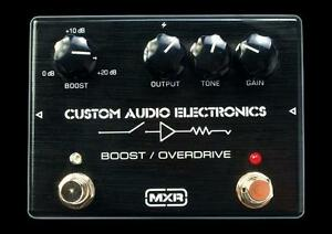 MXR MC402 - Boost/Overdrive MINT CONDITION
