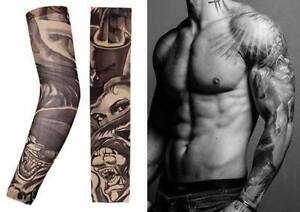 Fake Tattoo Clothing - Fake Tattoo Sleeve Nylon Elastic Boy Arm