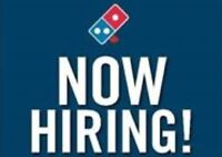 FULL TIME OR PART TIME DELIVERY DRIVERS FOR DOMINO'S PIZZA