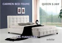 ♞♞♞BEAUTIFUL SELECTIONS OF Bed Frame IN TWO COLOURS