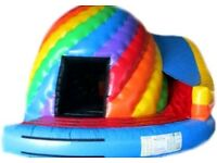 Disco Dome with Slide / Bouncy Castle