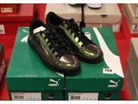 Puma Basket Classic Holo Unisex Low-Top Sneakers Size UK 5 EU 38