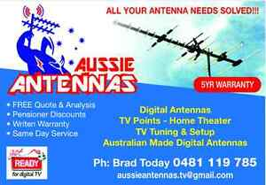 Aussie Antennas $175 Ipswich Ipswich City Preview