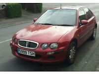 Rover 25 Full Mot, low mileage! !!!