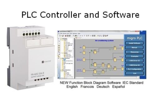 PLC Programmable Controller and Software Logic programming & Learning Automation