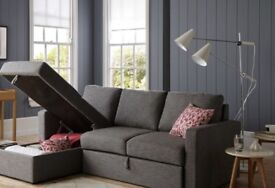 Sofa bed , small double, wardrobe