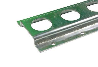 Zurrschiene 6m (4x1,50m) | Stahl verzinkt | Lochmaß 25mm | Rundloch Ankerschiene