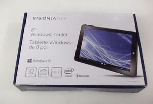 """Insignia 8"""" 32GB Windows 10 Tablet with Intel Z3735F Dual core"""