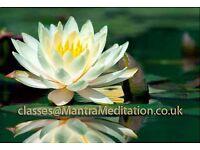 Free regular mantra meditation classes in London / Bethnal Green