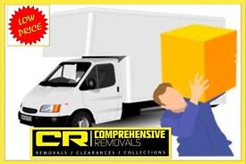 COMPREHENSIVE REMOVALS MAN & VAN HIRE SERVICE - House removals, Office moves home moving deliveries