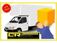 COMPREHENSIVE REMOVALS MAN & VAN HIRE SERVICE – House removals, office moves home moving deliveries