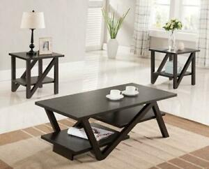 Coffe Table Set  | Glass Coffee Table |  End Tables | Side Tables |  Coffe Tables Sets | (AD 10)