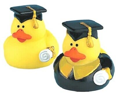 Graduation Rubber Ducks (Graduation Rubber Duck Set of 2 **Free S/H when you buy 6 items from my)
