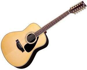 12 string acoustic guitar ebay. Black Bedroom Furniture Sets. Home Design Ideas