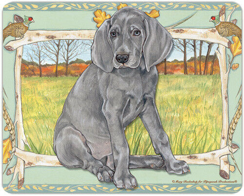 Weimaraner Small Cutting Board