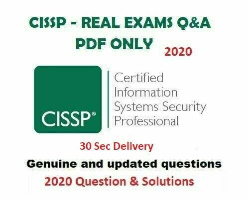 ISC2 CISSP Latest Exam Preparation Questions 🔥 30 Sec Delivery 📩⚡ | 2020