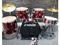 Sonor 507 5pc Drum Kit. Excellent Condition.