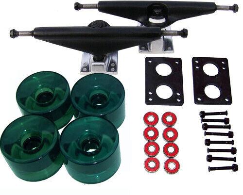 LONGBOARD Skateboard 9.75 in TRUCKS 70mm WHEELS PACK