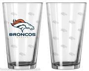 Denver Broncos Glasses