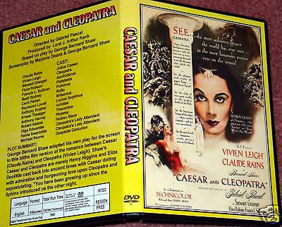 Caesar Cleopatra (CAESAR AND CLEOPATRA - DVD - Claude Rains, Vivien)