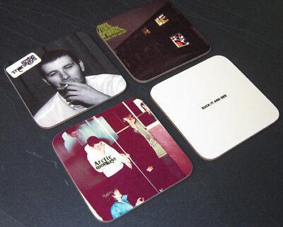 The Arctic Monkeys Album Cover COASTER Set