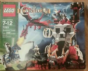 LEGO CASTLE Skeleton Tower with Flying Dragon: New Price!