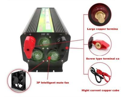 LED display 5000 watts 12v To 220v 230V Battery Power Inverter Air Conditioner