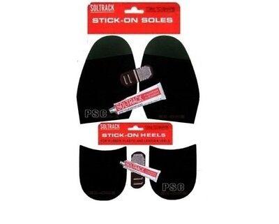 Soltrack Stick On Soles Ladies Heels Glue Anti Slip Ribbed Grip DIY Shoe Repair
