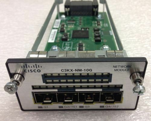 Cisco C3KX-NM-10G 3K-X Network Module for 3750-X 3560-X