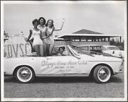 Pinup Car Photo