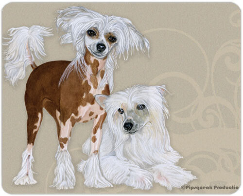 Chinese Crested Small Cutting Board