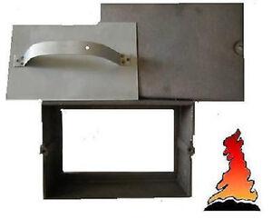 SOOT DOOR/BOX - CAST IRON WOODBURNER STOVE FIRE CHIMNEY