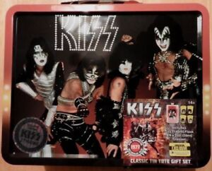KISS 2015 SDCC EXCLUSIVE LUNCHBOX w/FLASK & GLASSES