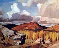 "A.J. Casson ""Hills at Bancroft"" Lithograph - Appraised at $500"