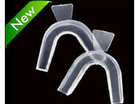 2 New Night Guard Gum Shield Mouth Trays For Bruxism Teeth Grinding.