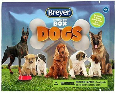 Breyer Pocket Box Dogs New