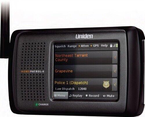 Uniden HomePatrol-II HP2 Digital Police Scanner Self Program APCO 25 Phase 1 & 2
