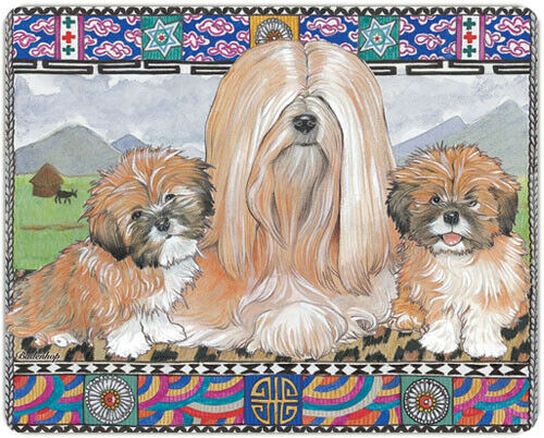 Lhasa Apso Small Cutting Board