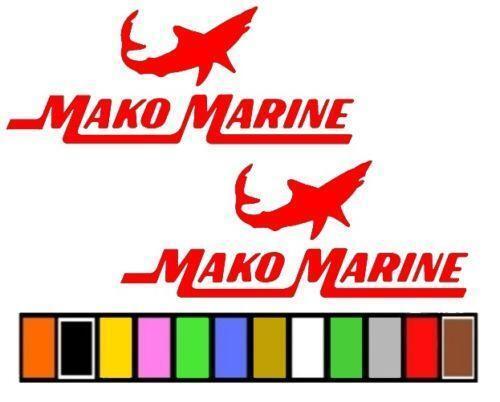 Mako Boat Stickers Ebay